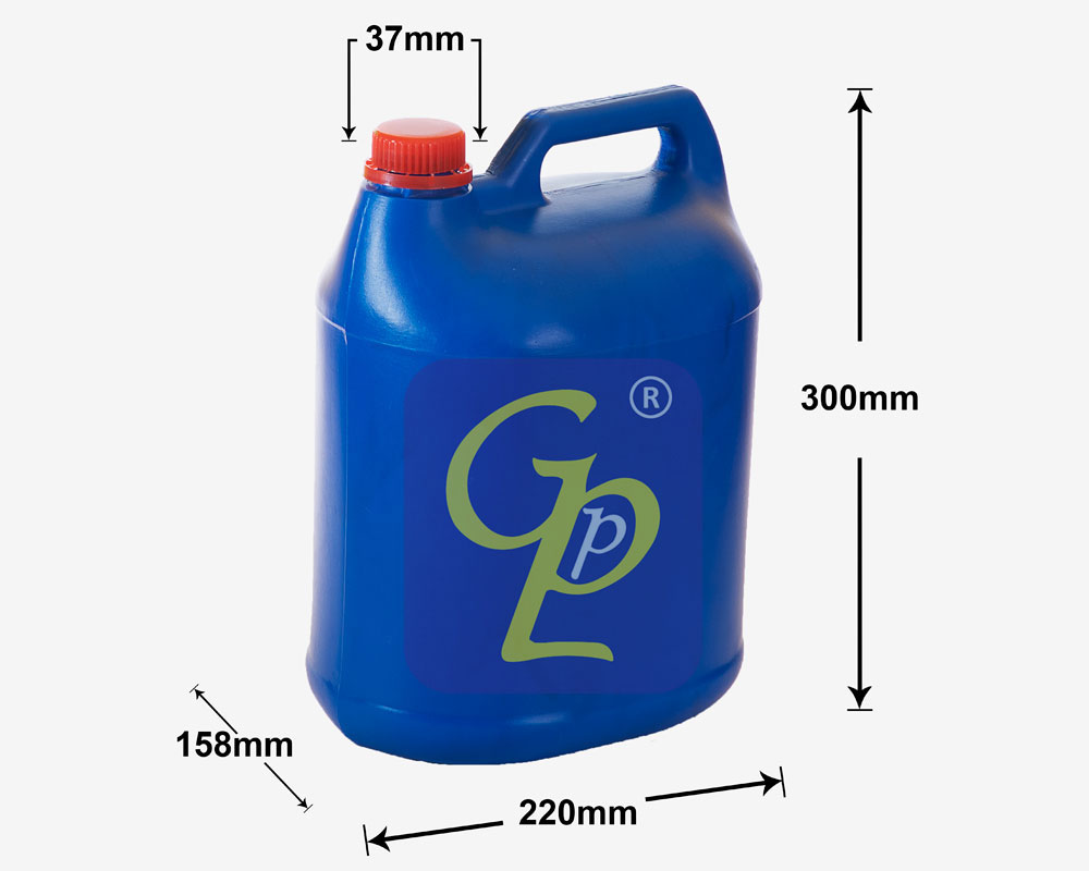 6 Ltr Half Round Jerry Cans